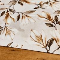 Bavlna režná - Kvety - cena za 10 centimetrov