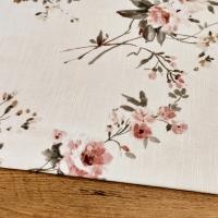 Bavlna režná - Kvety III - cena za 10 centimetrov