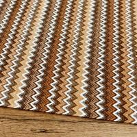 Bavlna režná - Vzory hnedé - cena za 10 centimetrov