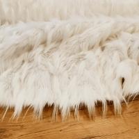 Kožušina umelá - Biela V - cena za 10 cm