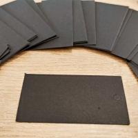 Kartička na šperky - 5 x 9 cm - Čierna