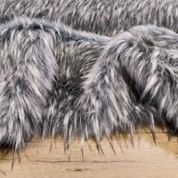 Kožušina huňatá - Šedý vlk III TOP - cena za 10 cm