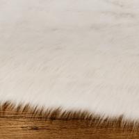 Kožušina umelá - Biela Škriatkovská II - cena za 10 cm