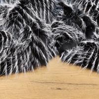 Kožušina umelá - Čiernobiela Škriatkovská II - cena za 10 cm