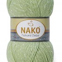 Nako Natural Bebe - 10262 hrášková zelená