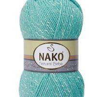 Nako Natural Bebe - 10705 pastelová tyrkysová