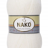 Nako Natural Bebe - 208 prírodná biela