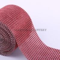 Kamienková stuha červená - cena za 10 cm