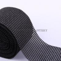 Kamienková stuha čierna - cena za 10 cm